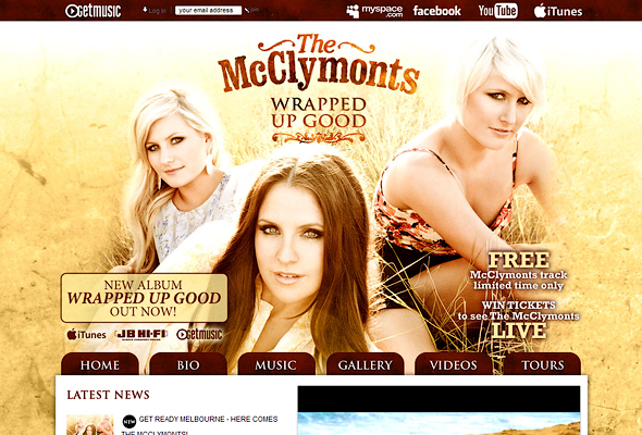 The Mcclymonts official Website