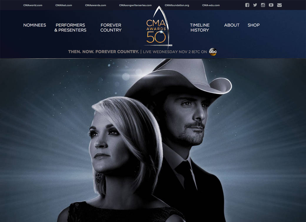 CMA Awards Official Site